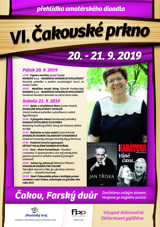 Pozvánka na Čakovské prkno -V.ročník přehlídky amatérského divadla