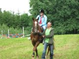 Jak je vidět z ježdění na koni měli radost i dospělí...