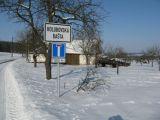 příjezd na Horní Holubovskou Baštu